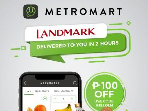 You Can Now Purchase Landmark's Grocery Items on MetroMart!