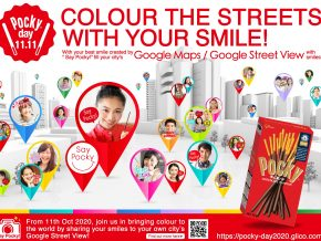 Pocky Day 2020: Color the Streets with Your Smile Relay