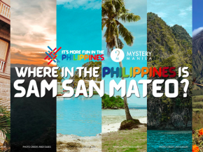 DOT and Mystery Manila Launches Where in the Philippines is Sam San Mateo Virtual Tour!