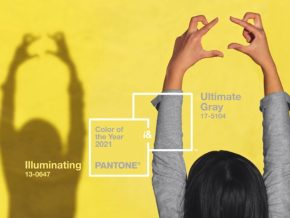 Pantone Announces Ultimate Gray and Illuminate as Color of the Year 2021