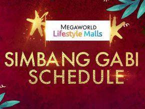Megaworld Lifestyle Malls Announces 2020 Simbang Gabi Schedule