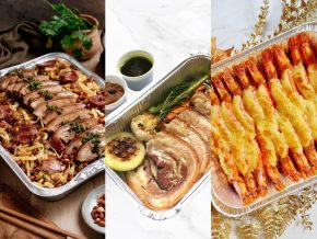 LIST: Catering Services That Offers Food Trays for Intimate Holiday Feasts at Home