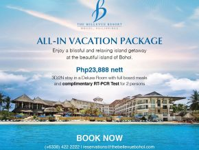 Bohol With Love: The Bellevue Resort Offers All-in Package With Free RT-PCR Test
