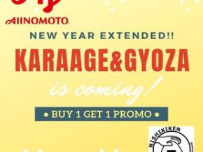 GREAT DEAL: Nishikiken Extends 'Buy One Take One' Promo of Frozen Karaage And Gyoza Until Jan. 30