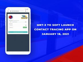 MRT-3 Launches Contact Tracing App