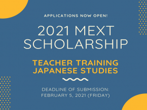 Japan Embassy Starts Accepting Applicants for 2021 MEXT Scholarship