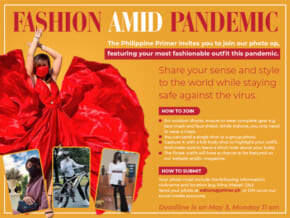 "The Philippine Primer Presents ""Fashion Amid Pandemic"""