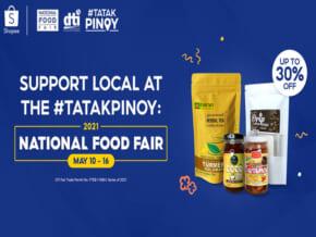 DTI, Shopee Bring National Food Fair 2021 Online