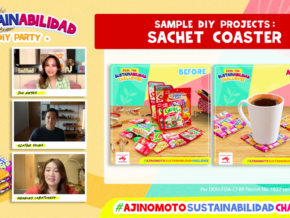 Slater Young and Home Buddies Dare Filipinos to have Eco-friendlier Homes via #AjinomotoSustainAbilidadChallenge
