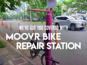 BGC, Moovr PH Offer Free Bike Repair Kits in Key Areas of the City