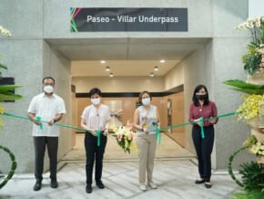 Makati Inaugurates Paseo de Roxas-Villar Underpass