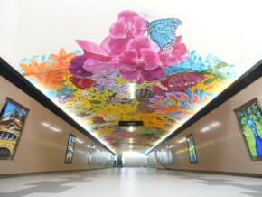 LOOK: Ayala Land and Make It Makati Unveil Vibrant Ceiling Mural at The Legazpi Underpass