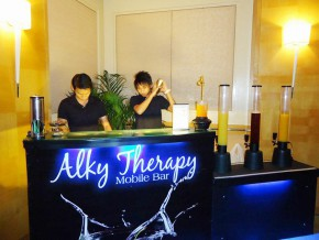 Alky Therapy Mobile Bar and Pro Lights/Sound System