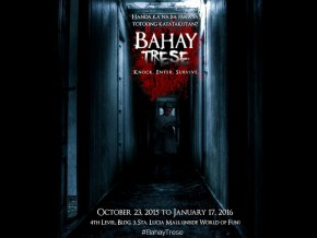 ENTER THE THEATRICAL HORROR ATTRACTION 'BAHAY TRESE'