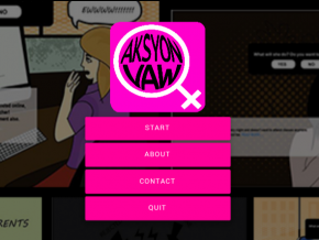 AksyonVAW: a mobile app for women against online abuse