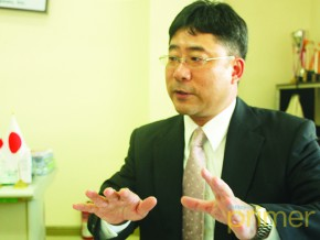 Business Talk with Kansai Paint Philippines' President and GM Takushi Yamamoto