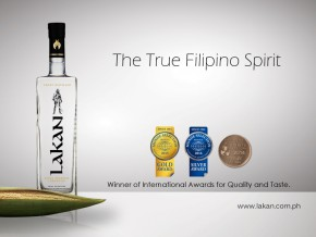 A drink fit for royalty: Lakan Extra Premium Lambanog