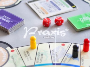 Learn all about financial planning – through a board game: Praxis®