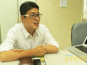 Business Talk with Mr. Tokusen Aoki of Paris Miki Philippines