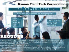 Kyoma Plant Tech Corporation in Alabang: Hire. Train. Retain.