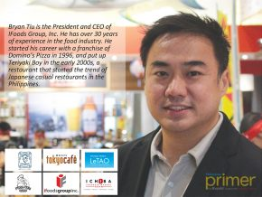 Bryan Tiu of iFoods Group, Inc.