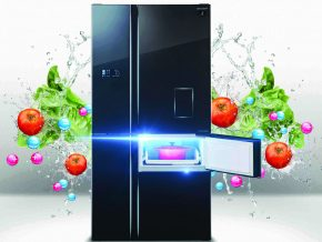 Sharp J-Tech 5-Door Refrigerator
