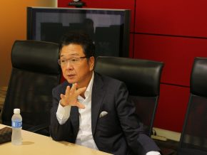 Business Talk with Mr. Mitsuhiko Shimizu of Hitachi Asia Ltd.