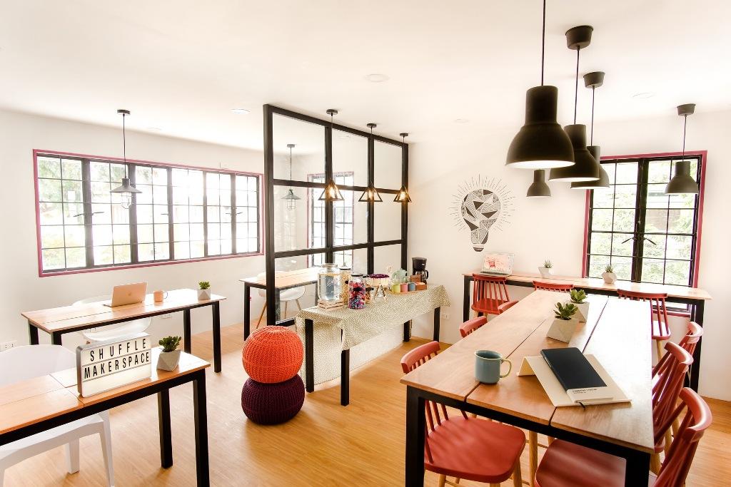 shuffle makerspace in san juan a charming co working hub