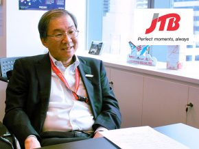 Business Talk with Tomoyuki Okagawa of JTB Asia Pacific Philippines