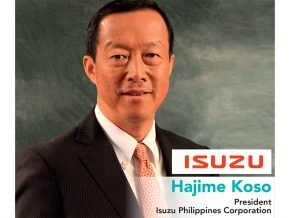 Business Talk with Hajime Koso, President of Isuzu Philippines Corporation
