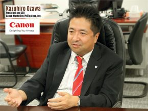 Business Talk with Kazuhiro Ozawa, President & CEO of Canon Marketing Philippines, Inc.