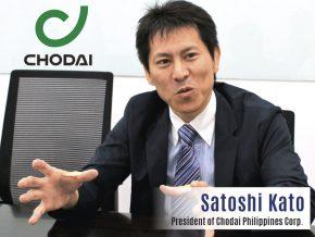 Business Talk with Satoshi Kato, President of Chodai Philippines Corporation