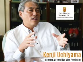 Business Talk with Kenji Uchiyama, Director and Executive Vice-President at San Miguel Brewery, Inc
