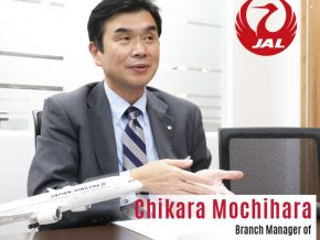 Business Talk with Chikara Mochihara, Branch Manager of Japan Airlines – Manila Office