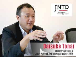 Business Talk with Daisuke Tonai, Executive Director of Japan National Tourism Organization (JNTO)