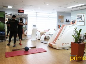 Almario Physio Team in Fort Bonifacio Introduces EMS Conditioning Program