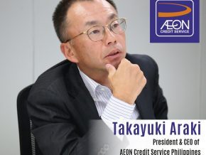 Business Talk with Takayuki Araki, President & CEO of AEON Credit Service Philippines