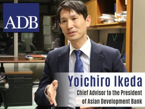 Business Talk with Yoichiro Ikeda, Chief Advisor to the President of Asian Development Bank
