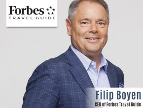 Business Talk with Filip Boyen, CEO of Forbes Travel Guide