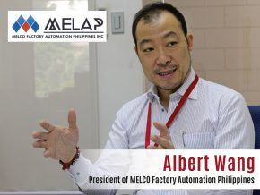 Business Talk with Albert Wang, President of MELCO Factory Automation Philippines