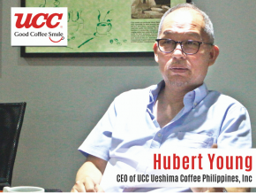 Business Talk with Hubert Young, CEO of UCC Ueshima Coffee Philippines, Inc