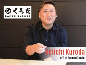 Business Talk with Keiichi Kuroda, CEO of Ramen Kuroda