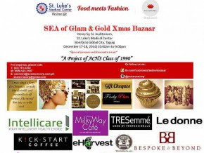 SEA of Glam & Gold Xmas Bazaar