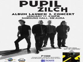 PUPIL: ZILCH ALBUM LAUNCH & CONCERT