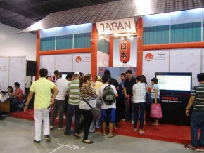 Japan Pavilion at the 22nd Travel Tour Expo 2015