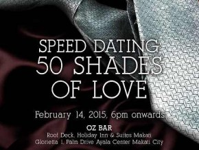 Something New for V-day: Go Speed Dating with 50 Shades of Love!