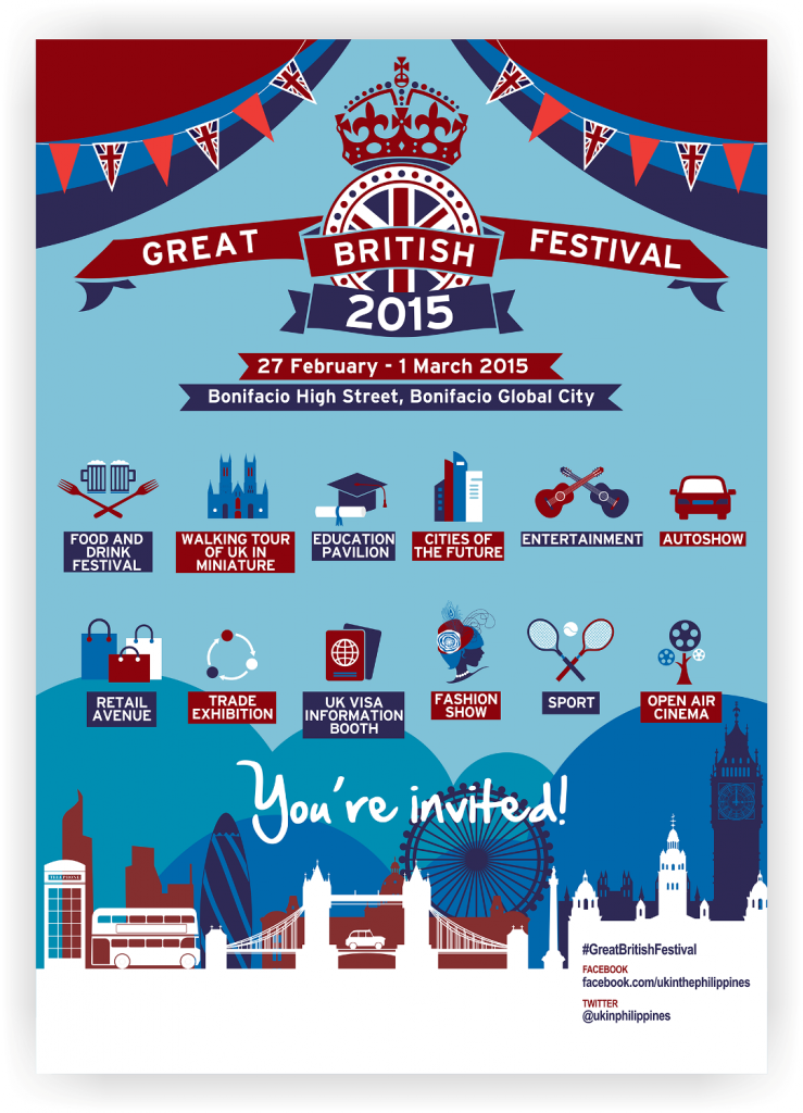 Great British Festival poster