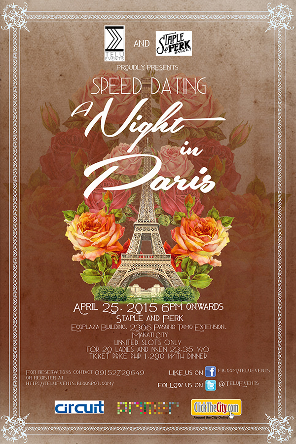 Speed ​​Dating Makati 2016