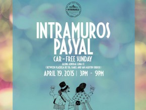 Lazy Sunday Activity: Intramuros Pasyal