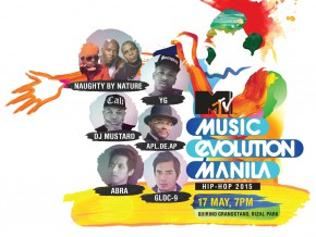 MTV Music Evolution Manila: Hip-hop 2015